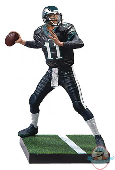 NFL 18 EA Sports Madden Series 1 Carson Wentz Figure McFarlane  Man of Action Figures