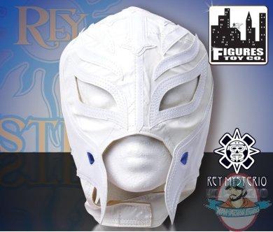 Wwe Rey Mysterio Kid Size Replica Solid White Mask Man