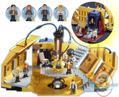 Character Building Doctor Who Tardis Console Room Mega Set