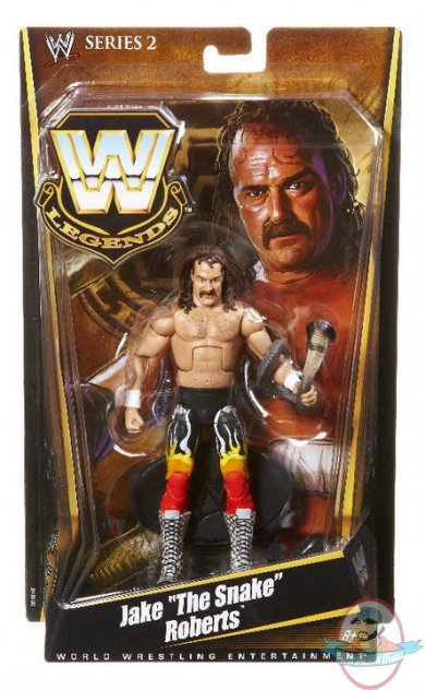 Wwe Legends Series 2 Jake The Snake Roberts Mattel Toy