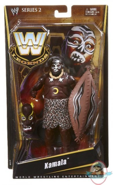 Wwe Legends Series 2 Kamala Figure Mattel Toy