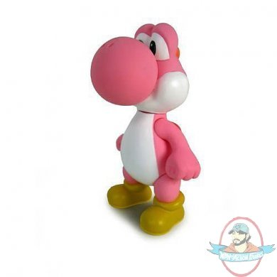 Super Mario Brothers 5 Inch Classic Figure Yoshi Pink
