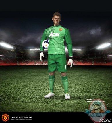 1 6 Scale Manchester United Quot David De Gea Quot Figure Zc 128