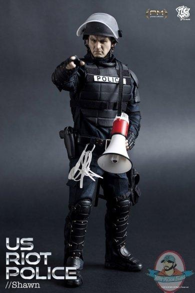 American Riot Police Shields