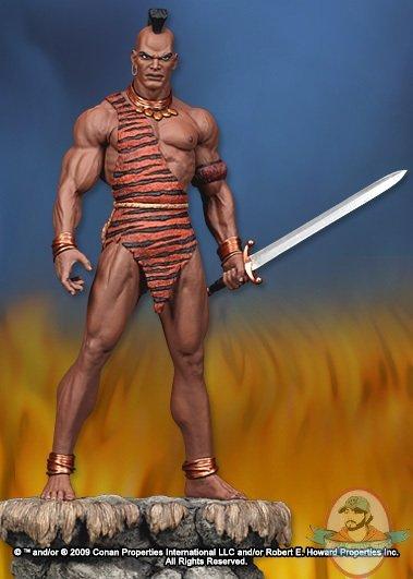 Conan The Barbarian Marvel Zula Statue By Hard Hero Man