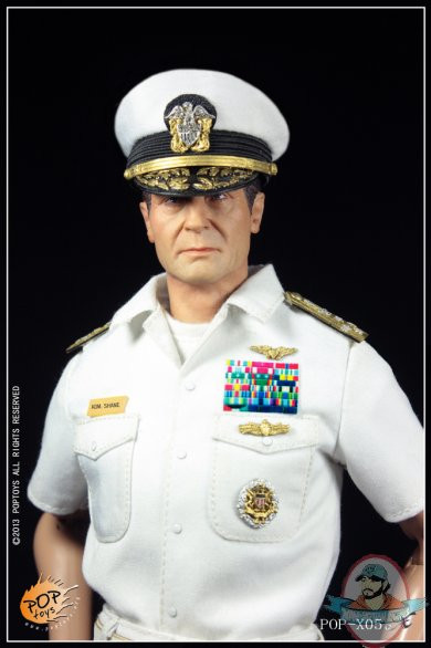 1/6 Scale POP Toys POP-X05 U.S. Navy Costume Suit for 12 ...