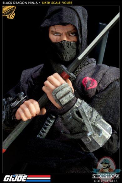 1 6 Scale G I Joe Black Dragon Ninja 12 Quot Figure Sideshow