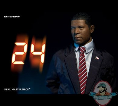 8568385096ab 24  President David Palmer 1 6 Scale Figure by Enterbay