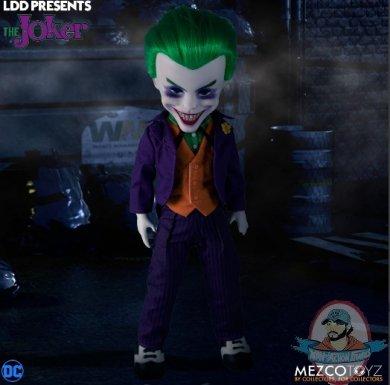 The Living Dead Dolls Presents Dc Universe Joker Doll Mezco