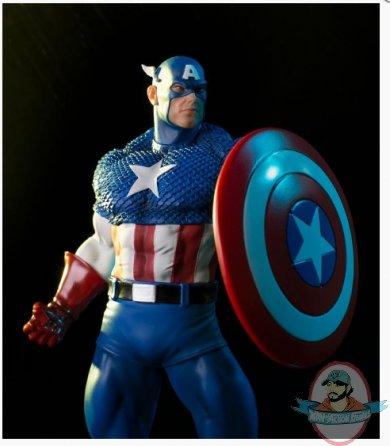 IRON STUDIOS MARVEL COMICS CAPTAIN AMERICA CLASSICS 1//10 STATUE