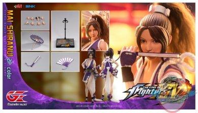 1 6 The King Of Fighters Xiv Mai Shiranui 2p Color Figure Kof Ms02