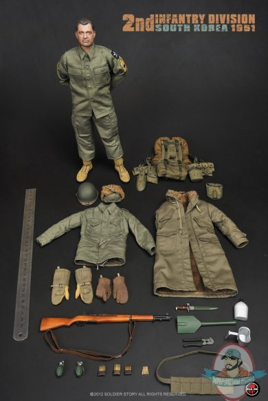 1 6 Scale 2nd Infantry Division South Korean 1951 By