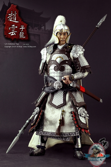 1/6 Scale Three Kingdoms Series Zhao Yun Zilong Figure 303 ...