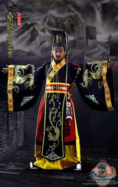 1 6 Scale Three Kingdoms Series Qin Shi Huangdi First