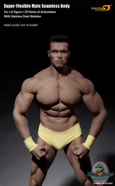 Phicen Limited 16 Body Super Flexible Male Seamless Body -7164
