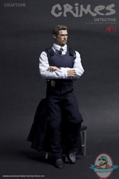 1/6 Sixth Scale Crime Detective CT-010 Action Figure