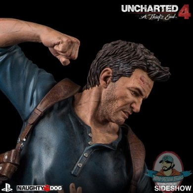 Uncharted 4 A Thiefs End Nathan Drake Statue Sony Interactive