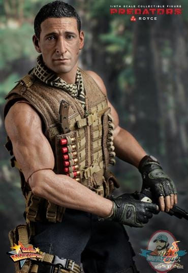 Movie Masterpiece 1 6 Scale Adrien Brody As Royce