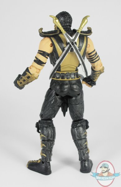 Mortal Kombat 9 6 Inch Scorpion Action Figure By Jazwares