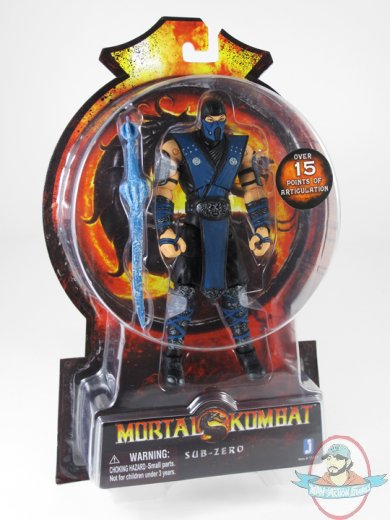 Mortal Kombat 9 6 Inch Sub Zero Action Figure By Jazwares