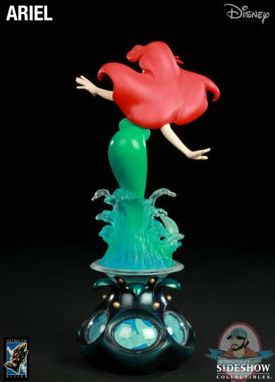 Disney Ariel Polystone Statue The Little Mermaid By Electric Tiki Man Of Action Figures