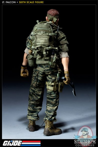 g i  joe green beret lieutenant falcon 12 u0026quot  exclusive sideshow used