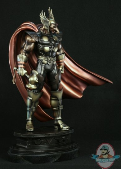 Faux Bronze Beta Ray Bill Statue Website Exclusive By