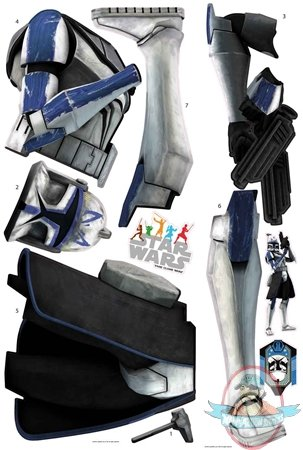 Star Wars Captain Rex Peel & Stick Wall Decals by Roommates | Man ...