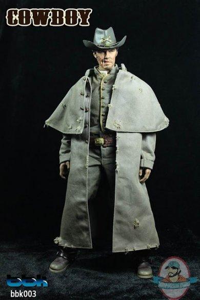 Bbk 1 6 Cowboy 12 Inch Figure Man Of Action Figures