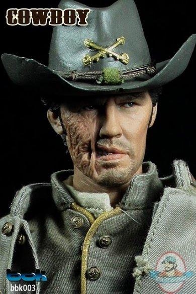 L47-28 1//6 scale action figure west cowboy hat