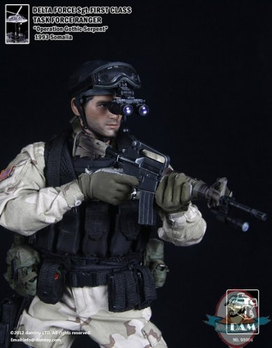 1 6 Scale Delta Force Sgt First Class Task Force Ranger