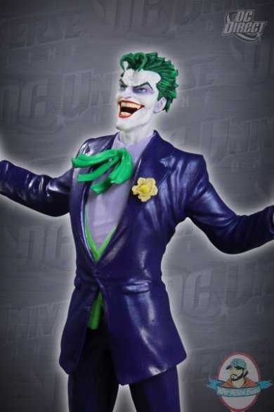 Dc Universe Online The Joker Statue By Dc Direct Man Of
