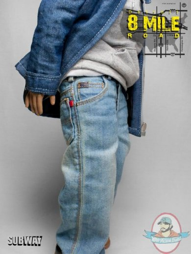 Subway Custom Eminem 1 6 Scale Detroit 8 Mile Road Action