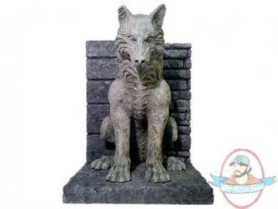 Game of thrones dire wolf bookends by dark horse man of action figures - Dire wolf bookends ...