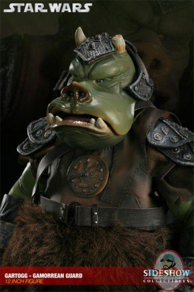 Star wars gartogg gamorrean guard 12 figure by sideshow collectibles man of action figures - Star wars gamorrean guard ...