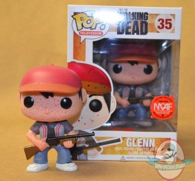Moaf Exclusive Amc The Walking Dead Bloody Glenn Pop