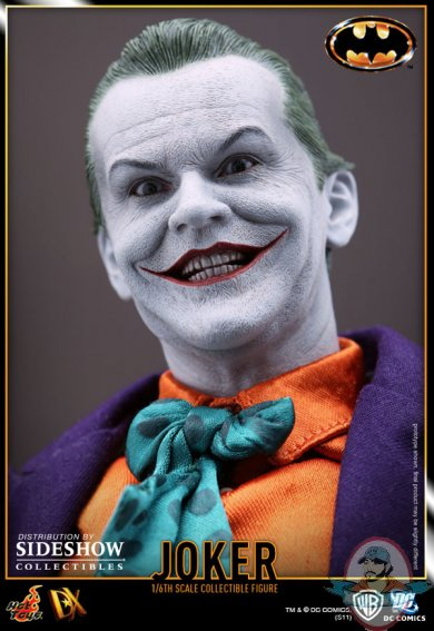 1//6 scale 1989 Batman Joker Jack Nicholson Head Sculpt Overlook Version