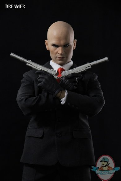1 6 Scale Agent 47 Hitman Action Figure By Dreamer Man Of Action Figures