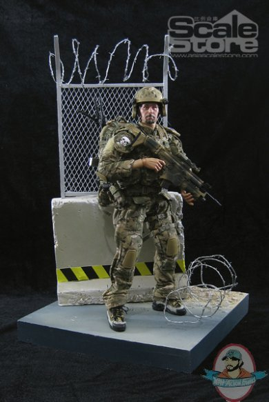 Scale Store 1 6 Isolation Net 12 Inch Figure Environment