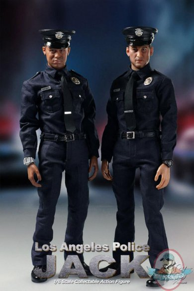 zc world 16th scale los angeles police set of 2 �tiger