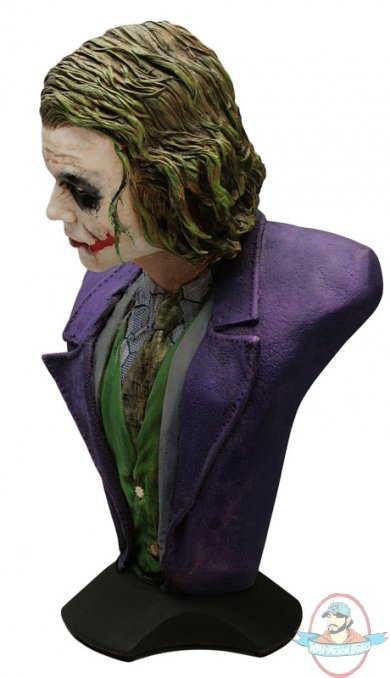 The Dark Knight The Joker Lifeszie Bust Hollywood