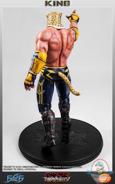 1 4 Scale King Tekken 5 Dark Resurrection Statue First 4 Figures Man Of Action Figures