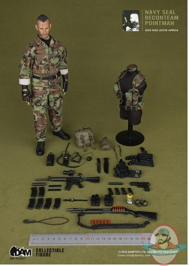 Toys And Tears : Dam action figure navy seal reconteam pointman man