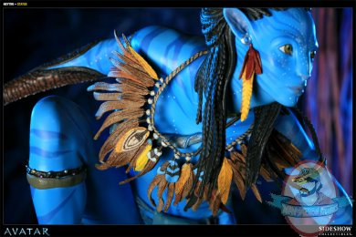 Avatar Neytiri Polystone Statue By Sideshow Collectibles Man Of Action Figures