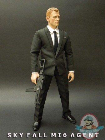 custom  sky fall james bond  daniel craig brother production man  action figures