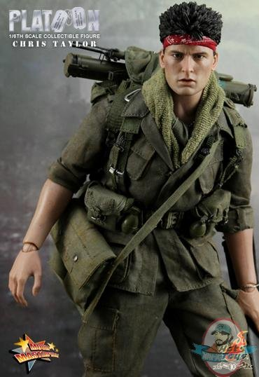 1 6th Scale Chris Taylor Charlie Sheen Platoon Movie