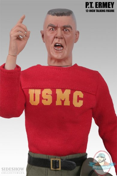 """PT R. Lee Ermey 12"""" inch talking figure by Sideshow ..."""