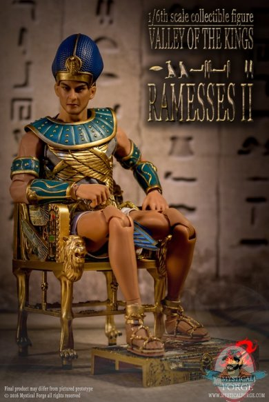 1 6 Valley Of The Kings Ramessess Ii Boxed Figure Mystical Forge Man Of Action Figures