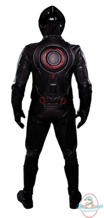 Tron Legacy Rinzler Red Orange Movie Replica Leather Suit