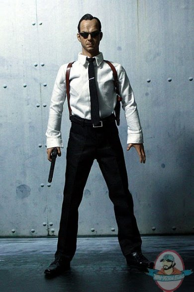 Hackers World Agent Smith 1 6 Scale 12 Inch Action Figure